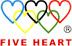 FIVE HEART